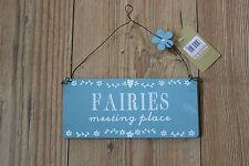 FAIRIES MEETING PLACE SIGN ,CHILDREN S ROOM/FAIRY  DOOR
