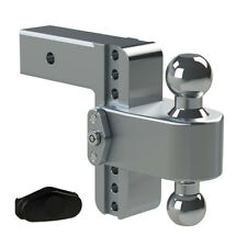 "Weigh Safe LTB6-2.5 Adjustable 6"" 180 Hitch Ball Mount 2.5"" Shaft 14,500 lbs."