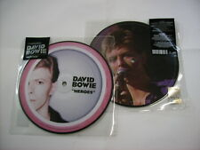 """DAVID BOWIE - HEROES - 7"""" PICTURE DISC VINYL BRAND NEW 2017"""
