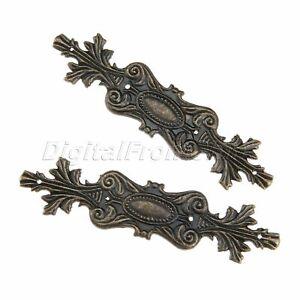 Antique Bronze Metal Embellishments Scrapbooking Box Case Decorative Protectors