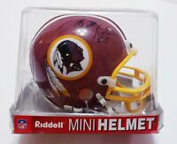 Billy Kilmer Autographed Washington Redskins Riddell Mini Helmet