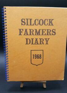 Silcock Farmer Diary 1968 Farmer & Stock-Breeder Birthday Gift Valid 2024