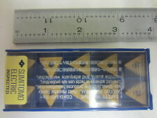 (10) NIB Sumitomo TNMG332EGE AC820P Carbide Inserts TNMG160408N-GE AC820P