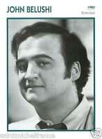 JOHN BELUSHI ACTEUR ACTOR FICHE CINEMA USA 90s