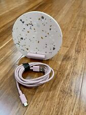Native Union Dock Wireless Qi Charger Terrazzo Edition - 10W Fast Charging Stand