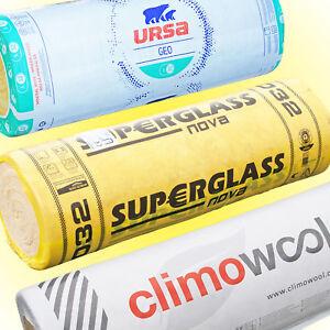 Klemmfilz - WLG 032 / 035 - 100-240mm Glaswolle Dämmwolle Dachdämmung