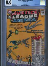 CGC 8.0 JUSTICE LEAGUE OF AMERICA #13 CREAM TO OFF-WHITE PGS WONDER WOMAN ARROW