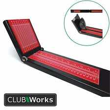 "Golf Club & Shaft Ruler/Exact Measure Tool - 48"" long - Steel & Foldable"