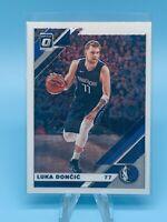 2019-20 Donruss Optic Luka Doncic Base Dallas Mavericks 2nd Year Card