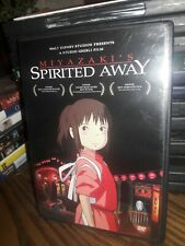 Spirited Away (Dvd, 2003, 2-Disc Set) Miyazaki'S. Walt Disney. Very Good. Free S