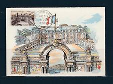 carte 1er jour  palais de l' Elysée  75 Paris   1957