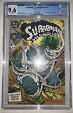 Superman Man of Steel 18 CGC 9.6 Second Print