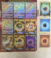 Pokemon Card Complete Set Sun And Moon Base 163/163 Hyper Rare