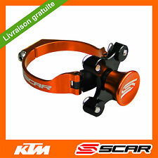 KIT DEPART HOLESHOT BLOQUE FOURCHE KTM 85SX 85 105 SX ORANGE SCAR