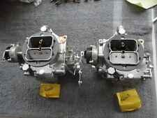 dual four carbs 1956 eldorado cadillac 4 carburetor quad 2372s 2371s caddy