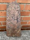 EARLY & EXTREMELY RARE ENGLISH OR CONTINENTAL INSCRIBED ROOFING TILE DATED 1669.