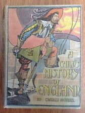CHILD'S HISTORY ENGLAND /CHARLES DICKENS ILLUS PATTEN WILSON Old Book 1902