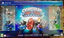 PS4 Skylanders TRAP TEAM DARK Kaos ultimate Wildfire limited EDITION pack NUOVO