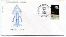 1969 Applications Technology Satellite - 5 Atlas-Centaur ETR Cape Canaveral NASA