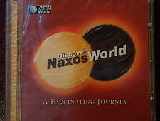 Naxos World Anthology from 3 Continents CD Mint Order 13 Tracks New 69 mins 2001