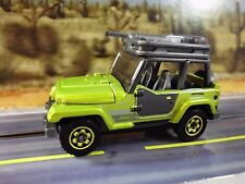 Jeep Wrangler 98 Truck 1/64 S Scale Train Layout Car 1:64 Diecast Vehicles