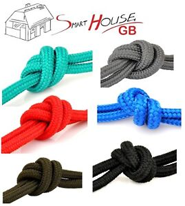 8mm Poly Rope Braided Polypropylene Cord Yacht Boat Sailing Camping Price Per M