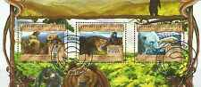 Timbres Animaux Ours Guinée 6790/2 o année 2013 lot 10743 - cote : 25 €