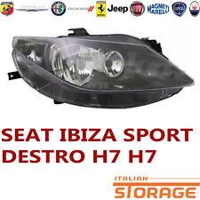6L1 FARO PROIETTORE SX DEPO SEAT IBIZA 4 1.9 TDI CUPRA R KW:118 2004/>2008 445