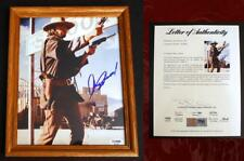 CLINT EASTWOOD SIGNED  - PSA/DNA 8X10 PHOTO Autographed & Framed (Dirty Harry) 7