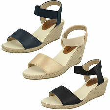 Mid Heel (1.5-3 in.) Wedge Spot On Textile Shoes for Women