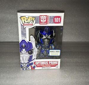 Funko POP Movies Authentic Transformers # 101 Optimus Prime Barnes Figure