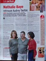 NATHALIE BAYE (& Audrey Tautou) Coupure de presse 1 page 2010 – French clippings