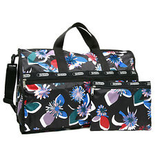 AUTH LeSportsac Purse 7185 Large Weekender Travel Bag Rep Rally NEW