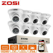 ZOSI HD 8CH 1080N HDMI DVR Home 4in1 CCTV Security Camera System 1500TVL Outdoor