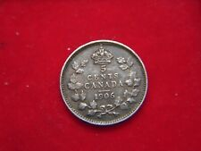 1906 FIVE CENT COIN FROM CANADA  [DJ99]