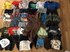 Baby Boy Clothes lot 0-3  3-6 Months Fall/Winter 42 pieces. Free shipping