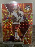 2020 Mosaic Football Terry McLaurin Gold Reactive Prizm Color Match!