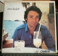 STEVE HACKETT ( GENESIS) - CURED - vinile LP 33 giri prima stampa ITALY 1981