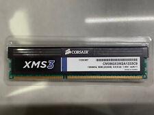4GB Corsair XMS3 DDR3 1333MHz PC3-10600 CL9 Memory Module 9-9-9-24 1.5V