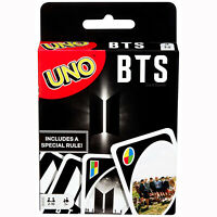 Bangtan Boys WEPLY Official Goods BTS UNO GAME FOTO CARTE by MATTEL + Gift