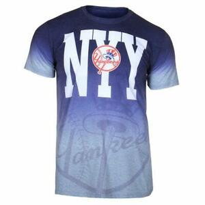 Forever Collectibles MLB Men's New York Yankees Gradient Tee