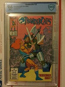 Thundercats 12_CBCS 9.6_like CGC_NEW CBCS SLAB!_VHTF!!_WHITE pages