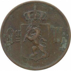 NORVEGE 5 ORE 1876 TB+