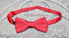 Boys infant toddler child bow tie kids red polka weddingboy,Christmas,baby