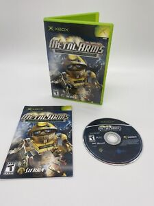 Metal Arms: Glitch in the System (Microsoft Xbox, 2003) Clean Copy -Free Ship A+