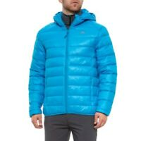 Trespass Ramirez Down Jacket Blue Mens Hooded Quilted Puffer UK Size L *REF134