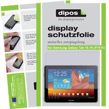 Dipos Antireflex Displayschutzfolie für Samsung Galaxy Tab 10.1N Displayfolie