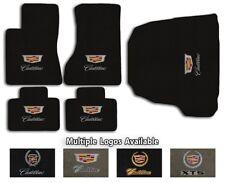 Cadillac Cars - 5pc Classic Loop Carpet Floor Mat Set - Choose Color & Logo