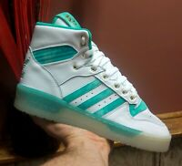 "Adidas Originals ""Rivalry""◾Men's Size 10.5◾White/Teal◾FV4526◾Brand New!◾WOW! 💯"