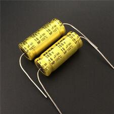 3pcs 100V 16uF 100V ELNA NP 12.5x30mm Bipolar Axial Electrolytic Capacitor